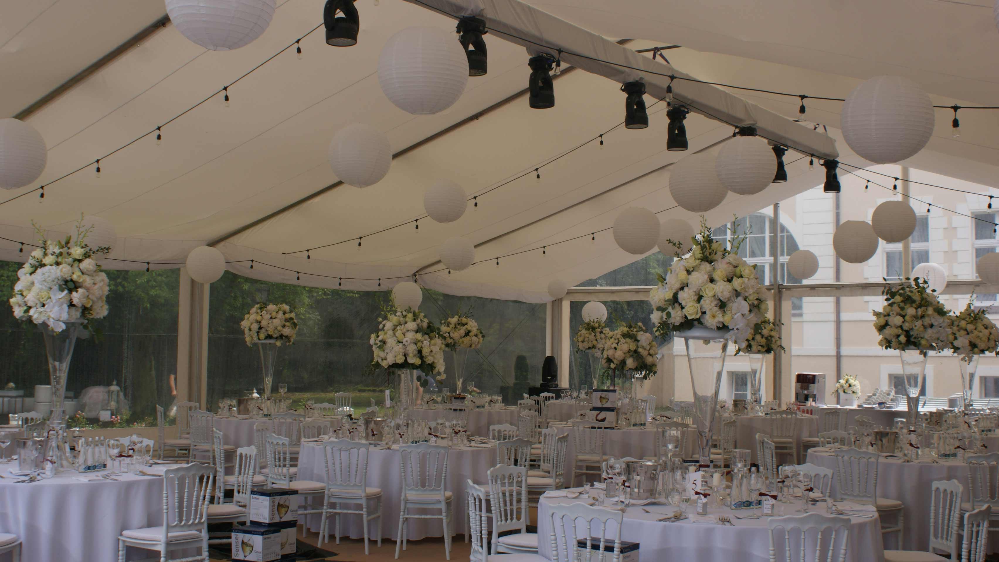 W Ultra Dekoracja sufitu na sali weselnej - Artcom WG25