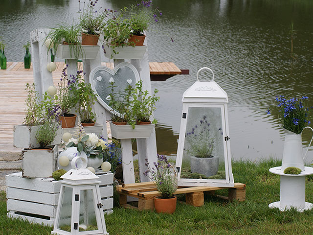 dekoracje plenerowe